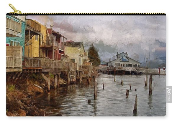 Scene On The Siuslaw  Carry-all Pouch
