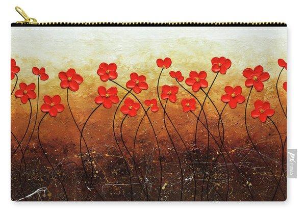 Flores De Mi Jardin Carry-all Pouch