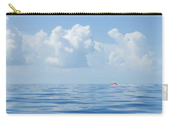 Florida Keys Clouds And Ocean Carry-all Pouch