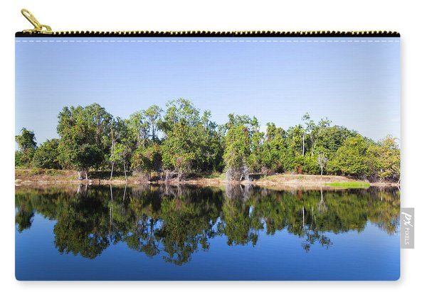 Florida Lake And Trees Carry-all Pouch