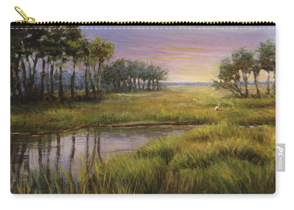 Florida Marsh Sunset Carry-all Pouch