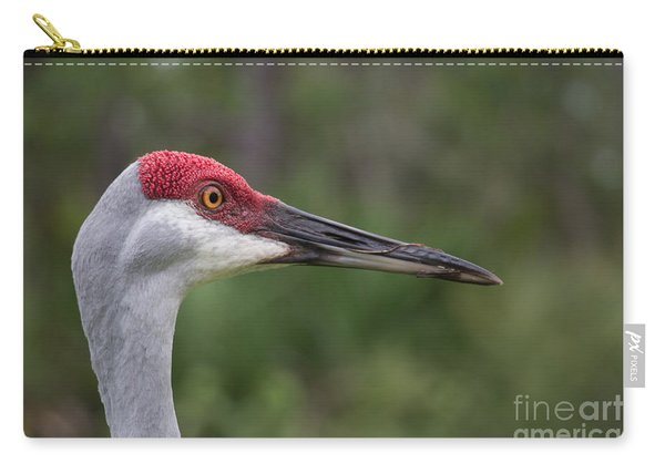 Florida Sandhill Crane Carry-all Pouch