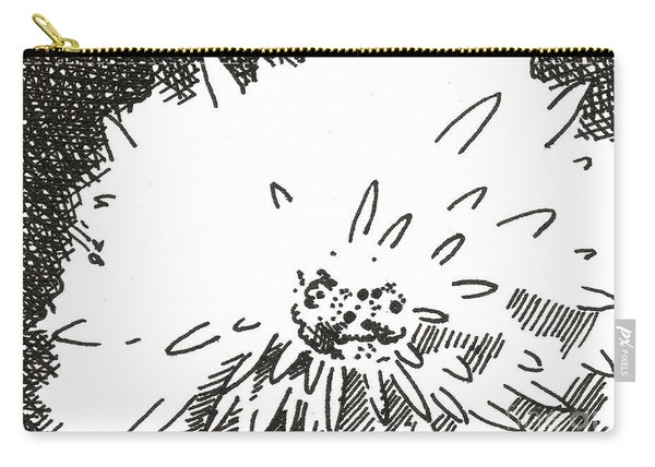 Flower 1 2015 Aceo Carry-all Pouch