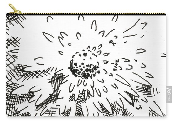 Flower 2 2015 - Aceo Carry-all Pouch