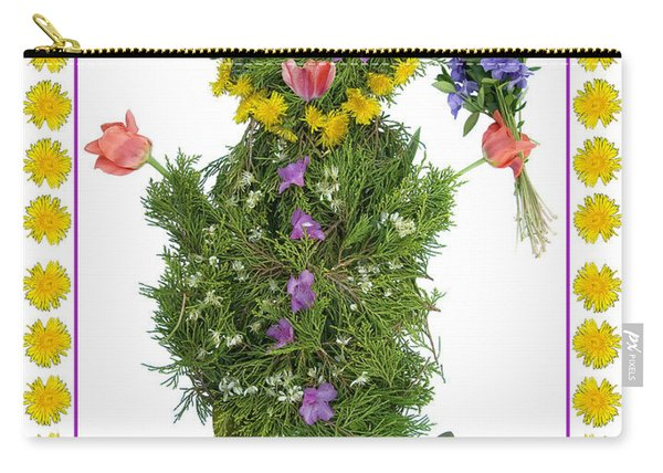 Flower Baby Carry-all Pouch
