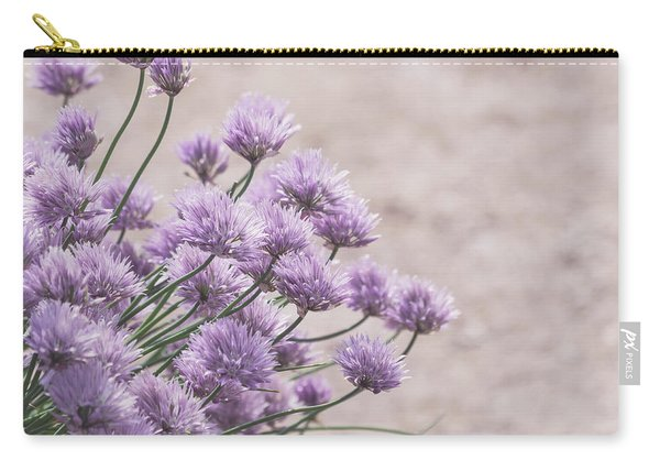 Flower Chives Carry-all Pouch