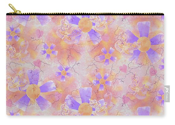 Flower Clown Pattern Carry-all Pouch