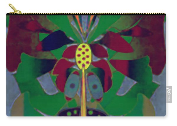Flower Design Carry-all Pouch