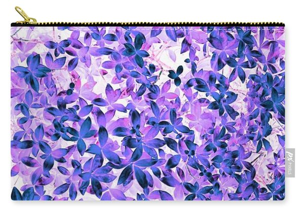 Flower Fuji Carry-all Pouch