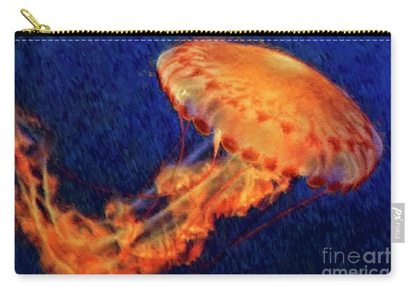 Flower Hat Jellyfish Carry-all Pouch
