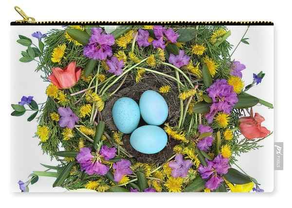 Flower Nest Carry-all Pouch