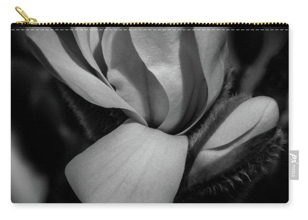 Flower Noir Carry-all Pouch
