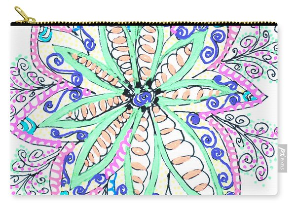 Flower Power Carry-all Pouch
