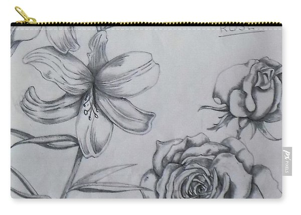 Flower Study 1 Carry-all Pouch