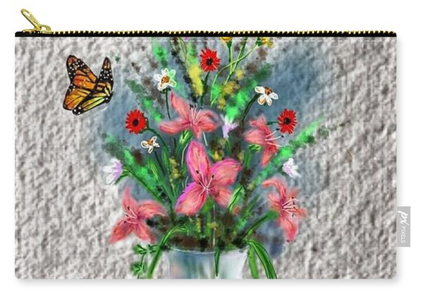 Flower Study Three Carry-all Pouch