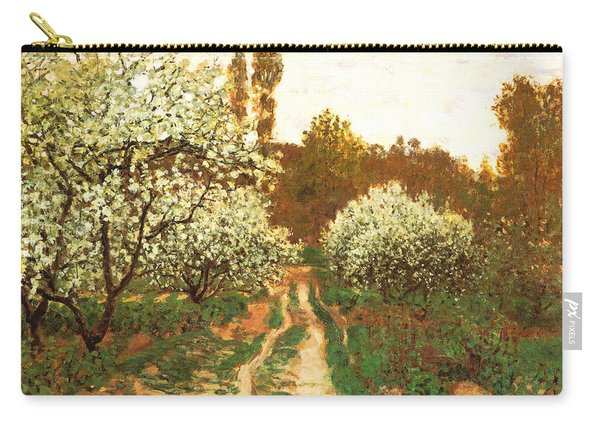 Flowering Apple Trees Carry-all Pouch