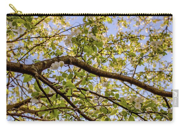 Flowering Crab Apple Carry-all Pouch