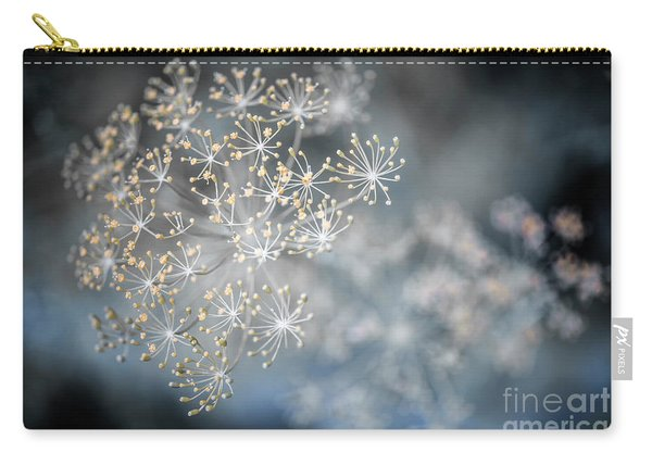 Flowering Dill Macro Carry-all Pouch
