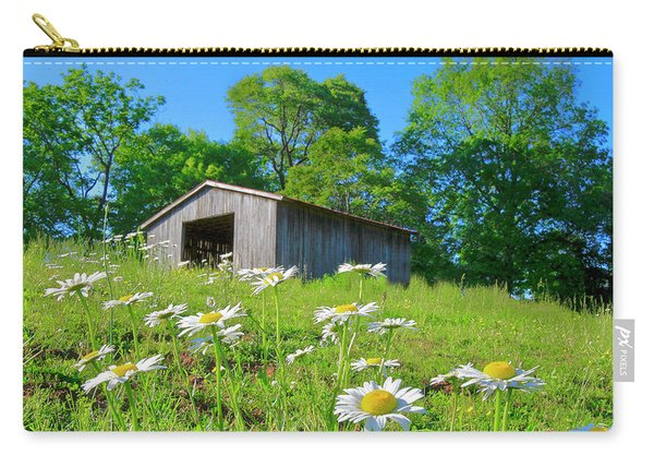 Flowering Hillside Meadow Carry-all Pouch