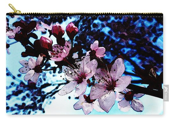 Flowering Of The Plum Tree 7 Carry-all Pouch