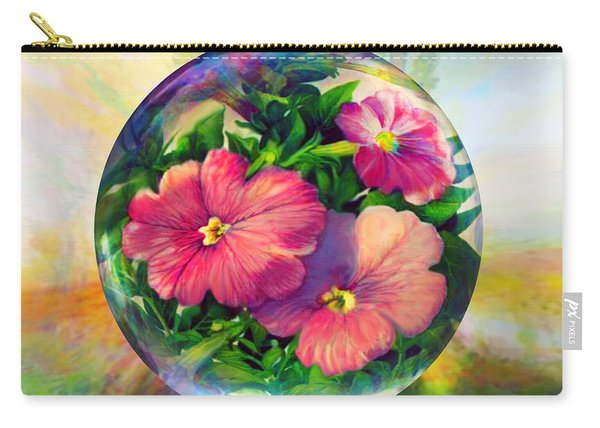 Flowering Panopticon Carry-all Pouch