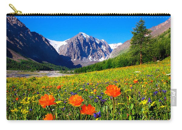 Flowering Valley. Mountain Karatash Carry-all Pouch