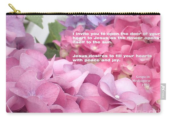 Flowers And Joy  Carry-all Pouch