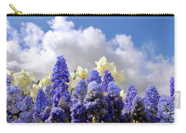 Flowers And Sky Carry-all Pouch