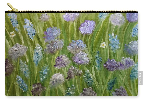 Flowers Field Carry-all Pouch