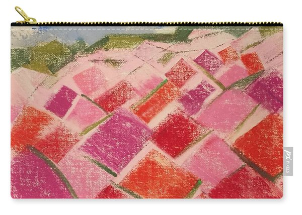 Flowers Fields Carry-all Pouch