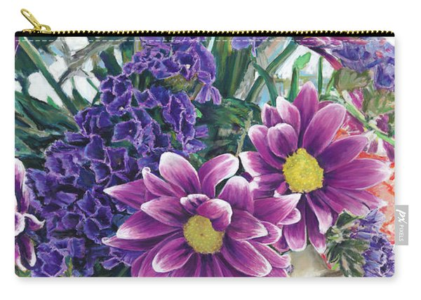 Flowers From Daughter Carry-all Pouch