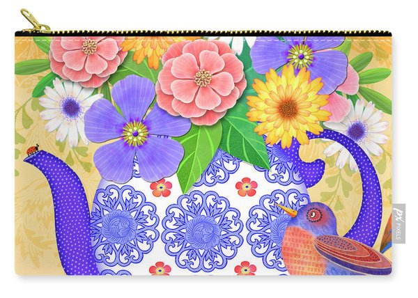 Flowers From The Garden Carry-all Pouch