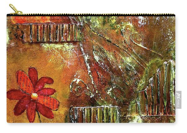 Flowers Grow Anywhere Carry-all Pouch