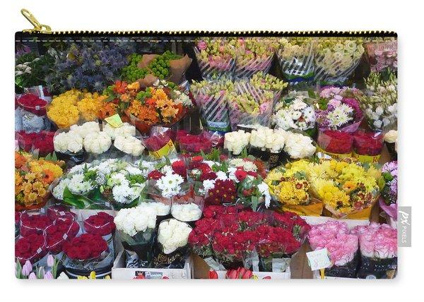 Flowers Kiosk Carry-all Pouch