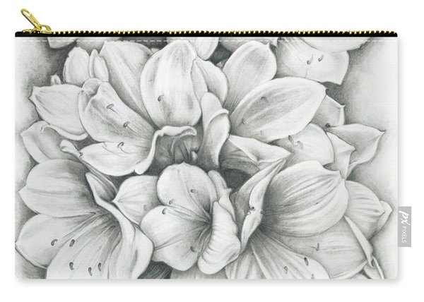 Clivia Flowers Pencil Carry-all Pouch