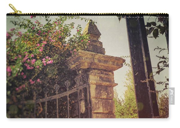 Flowery Iron Gate Carry-all Pouch