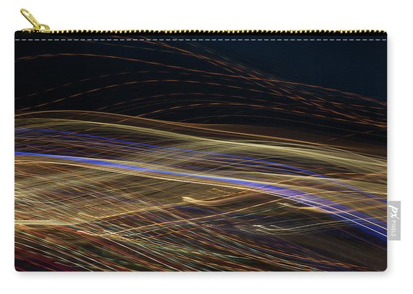 Carry-all Pouch featuring the photograph Flowing by Michael Lucarelli