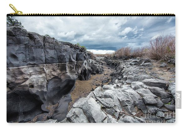 Flowing To The Storm Idaho Journey Landscape Art By Kaylyn Franks Carry-all Pouch