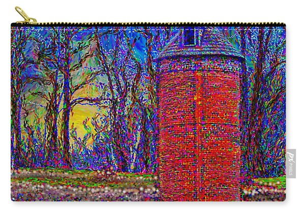 Floyd,virginia Tower Carry-all Pouch