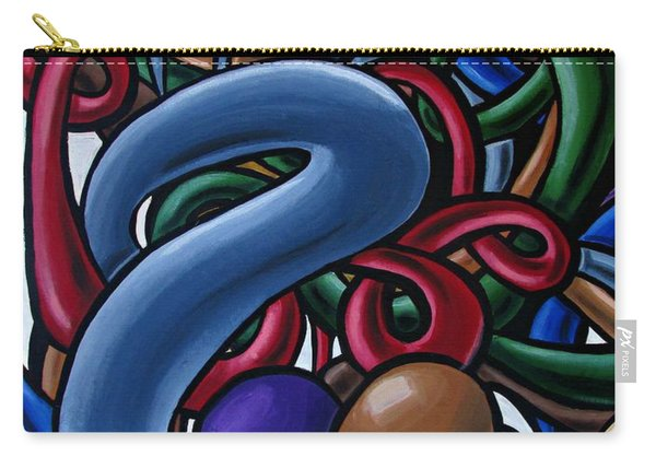Colorful Abstract Art Painting Chromatic Water Artwork  Carry-all Pouch