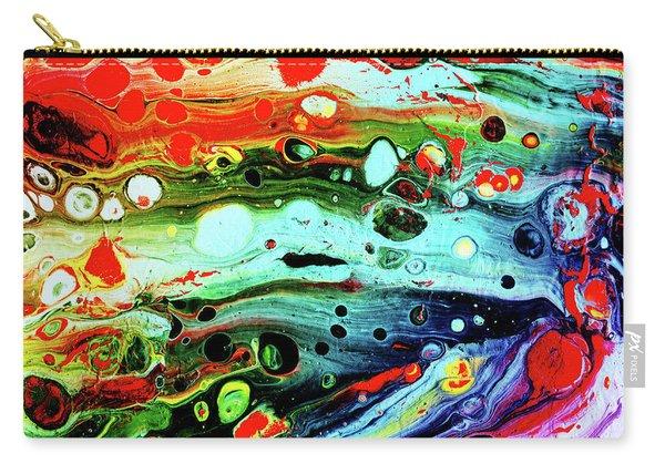Fluid Acrylic Art Carry-all Pouch