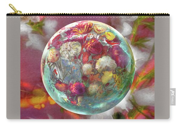 Fluorescent Dream Orb Carry-all Pouch