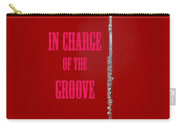 Flute In Charge Of The Groove 5528.02 Carry-all Pouch