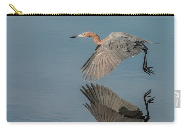 Fly By Reflection Carry-all Pouch