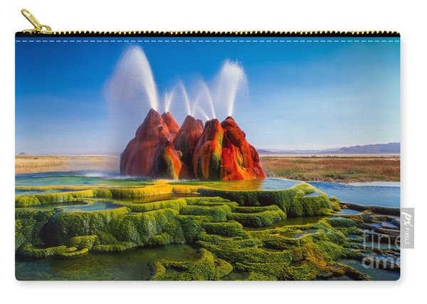 Fly Geyser Panorama Carry-all Pouch