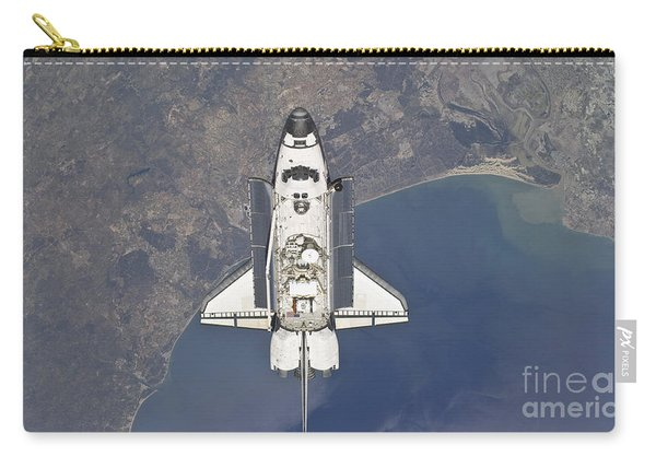 Flying Above The Atlantic Coast Carry-all Pouch