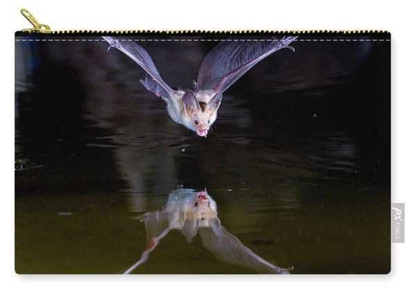 Flying Bat With Reflection Carry-all Pouch