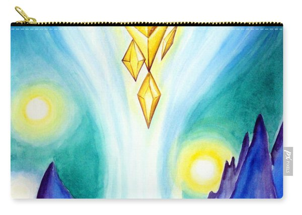 Flying Crystals. Storage Of Energy. Space Fantasy Carry-all Pouch