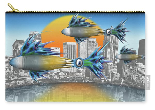 Flying Fisque  Carry-all Pouch