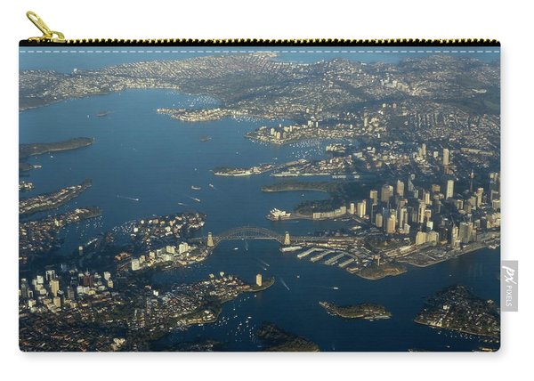 Flying Into Sydney Carry-all Pouch